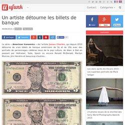 Un artiste détourne les billets de banque