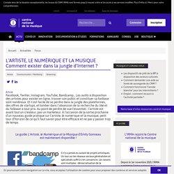 IRMA L'ARTISTE, LE NUMÉRIQUE ET LA MUSIQUE Comment exister dans la jungle d'Internet (...)