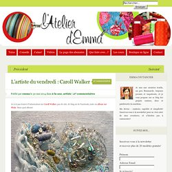L'artiste du vendredi : Caroll Walker