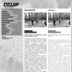 Artistes/Artists - Le Cyclop