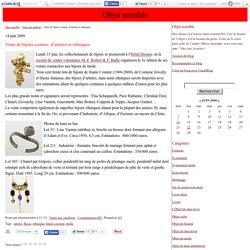 Vente de bijoux couture, d'artistes et ethniques - Objet sensible