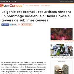 Le génie est éternel : ces artistes rendent un hommage indélébile à David Bowie à travers de sublimes œuvres