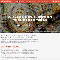Avec Google, même les artistes sont remplacés par des machines