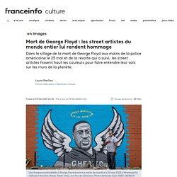 EN IMAGES. Mort de George Floyd : les street artistes du monde entier lui rendent hommage