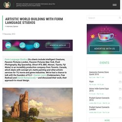 Artistic World Building with Form Language Studios