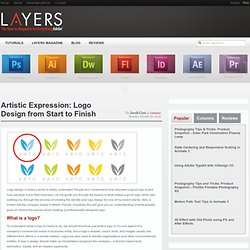 Artistic Expression: Logo Design from Start to Finish