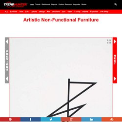 Artistic Non-Functional Furniture : non-functional furniture