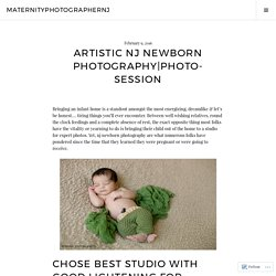 Artistic NJ Newborn Photography