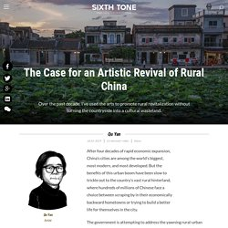 The Case for an Artistic Revival of Rural China