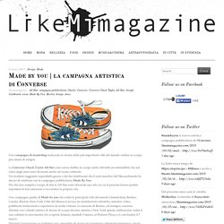 la campagna artistica di Converse