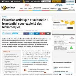 Education artistique et culturelle en bibliothèque