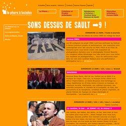 sons dessus de sault >9 ! - Le Phare à Lucioles. Création artistique contemporaine. Loïc Guénin. Sault. Vaucluse.
