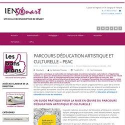 Parcours d'éducation artistique et culturelle – PEAC