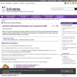 Éducation artistique et culturelle : mettre en œuvre le parcours - Journée nationale de formation sur le parcours EAC