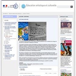 Lecture - Ecriture - Éducation artistique et culturelle