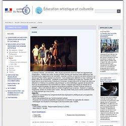 Danse - Éducation artistique et culturelle