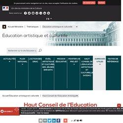 Haut Conseil de l'Education Artistique et Culturelle (HCEAC)