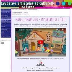 En sortant de l'école - Education artistique et Culturelle en Isère