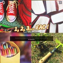 1, 2, 3 EAC ! dans l'académie de Lyon par la DAAC - Education artistique et culturelle