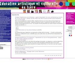 Education artistique et Culturelle en Isère