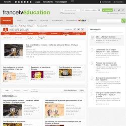 France tv Education Histoire de l'art