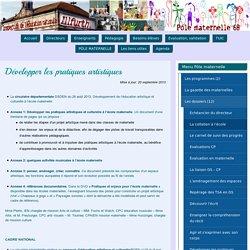 Développer les pratiques artistiques – Circonscription d'Illfurth