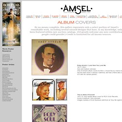 The Art & Artistry of Richard Amsel (1947-1985): Album Covers