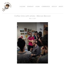 Coffee time with artists - Marcos Beccari — Café Watercolor