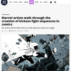 Marvel artists walk through the creation of kickass fight sequences in comics · Expert Witness