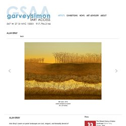 ALAN BRAY - ARTISTS - Garvey Simon Art Access