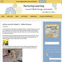 Artists and Art Week 9 - Pablo Picasso - Nurturing Learning