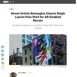 Street Artists Reimagine Classic Ralph Lauren Polo Shirt for AR-Enabled Murals