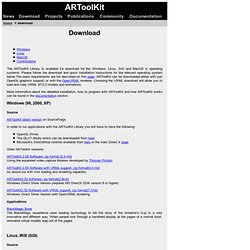 ARToolKit Download