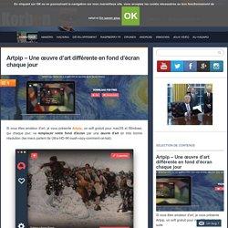 Artpip - Une œuvre d'art différente en fond d'écran chaque jour
