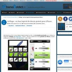 ArtRage : un bon logiciel de dessin gratuit pour iPhone