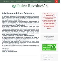 Artritis reumatoide – Barcelona