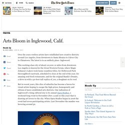 Arts Bloom in Inglewood, Calif.