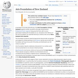 Arts Foundation of New Zealand