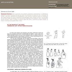 Arts & Sociétés