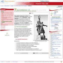 Arts et totalitarismes - 1/3 - Histoire des arts