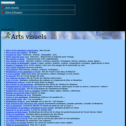 Arts Visuels et Sites d'Images