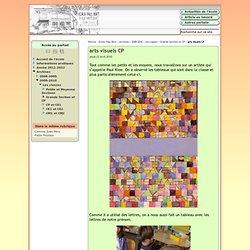 arts visuels CP - Webécoles - Vienne 1