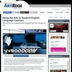 ARTSEDGE: Supporting Individual Needs: Supporting ELLs with the Arts