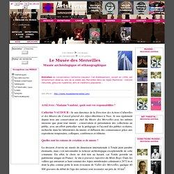 VAUDOUR Catherine - Le Musée des Merveilles