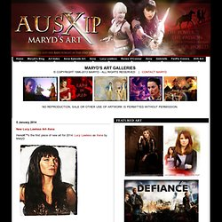 MaryD Art Xena Warrior Princess Lucy Lawless Renee O'Connor