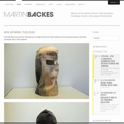 New Artwork: Pixelhead « Martin Backes – Official Website