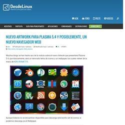 Nuevo artwork para Plasma 5.4 y posiblemente, un nuevo navegador web