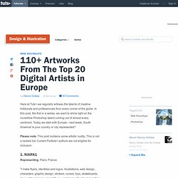 110+ Artworks From The Top 20 Digital Artists in Europe