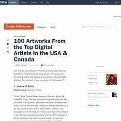 100 Artworks From the Top Digital Artists in the USA & Canada
