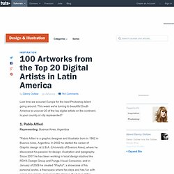 100 Artworks from the Top 20 Digital Artists in Latin America